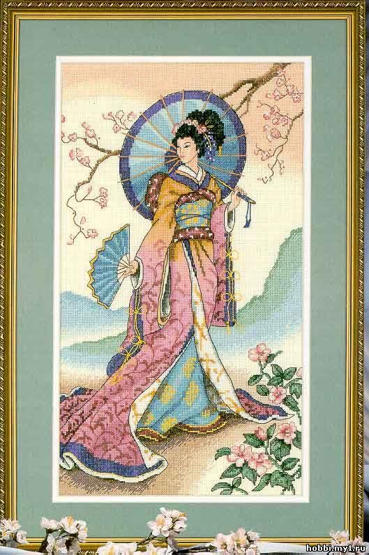 Картина выполнена в Японском